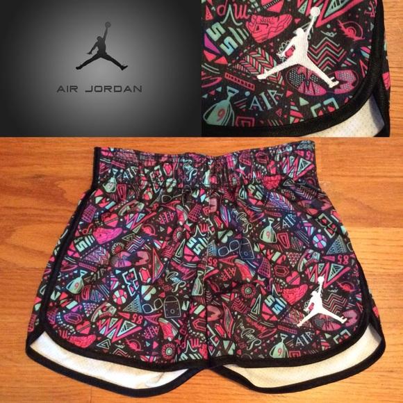 8f86141f1c8 Jordan Bottoms | Air Jumpman Girls Printed Shorts Size M | Poshmark